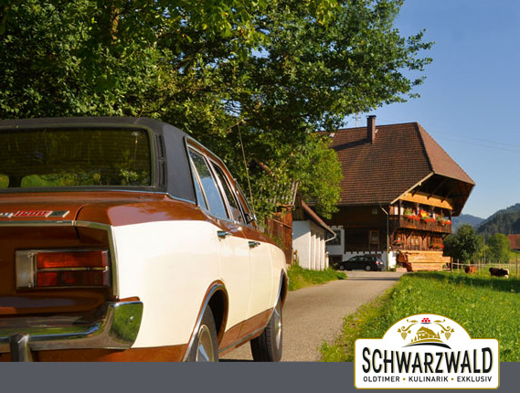 Oldtimertouren durch den Schwarzwald