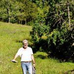 Elmar Langenbacher, Schwarzwald Wiese hinterm Haus